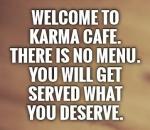 karma menu