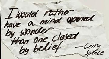 Mind open to belief 10.14