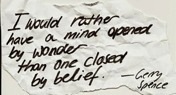 Mind open to belief 10.14