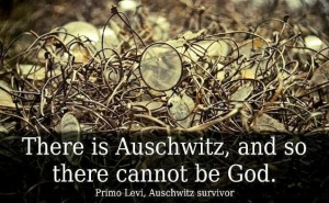 God Auschwitz evil